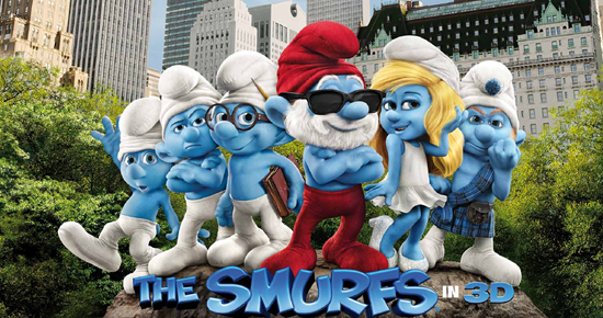 High Resolution Wallpaper | The Smurfs 550x290 px