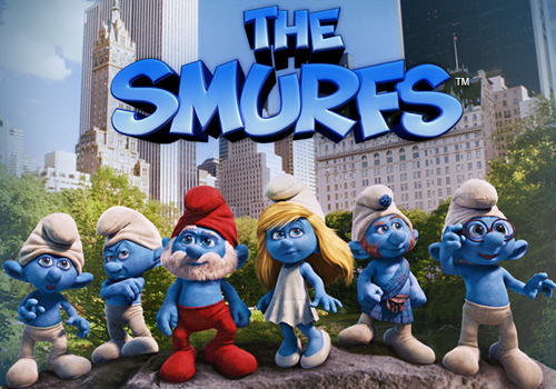 The Smurfs Backgrounds, Compatible - PC, Mobile, Gadgets| 500x350 px