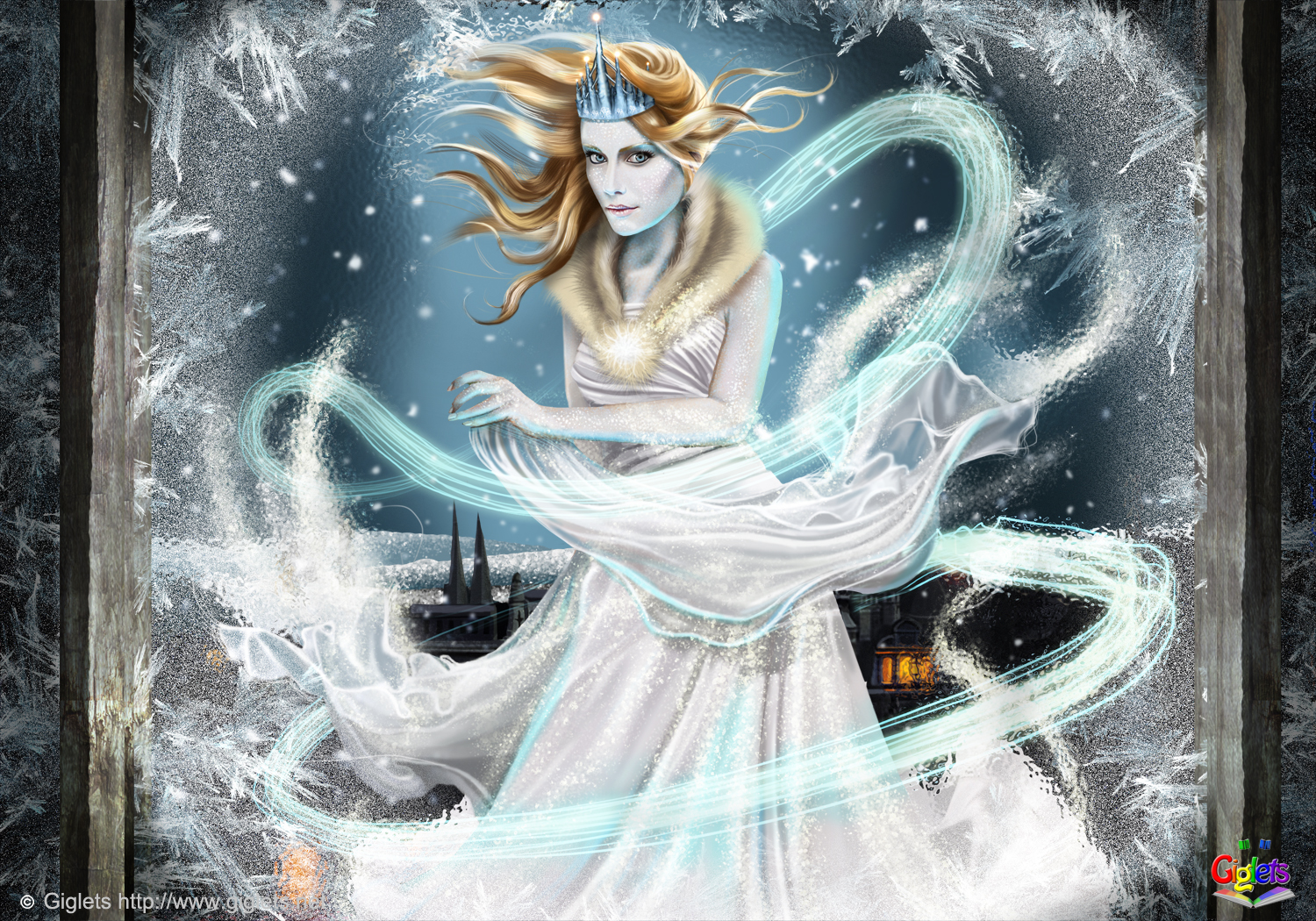 The Snow Queen  Backgrounds, Compatible - PC, Mobile, Gadgets| 1500x1050 px