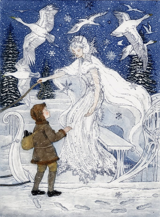 Nice Images Collection: The Snow Queen  Desktop Wallpapers