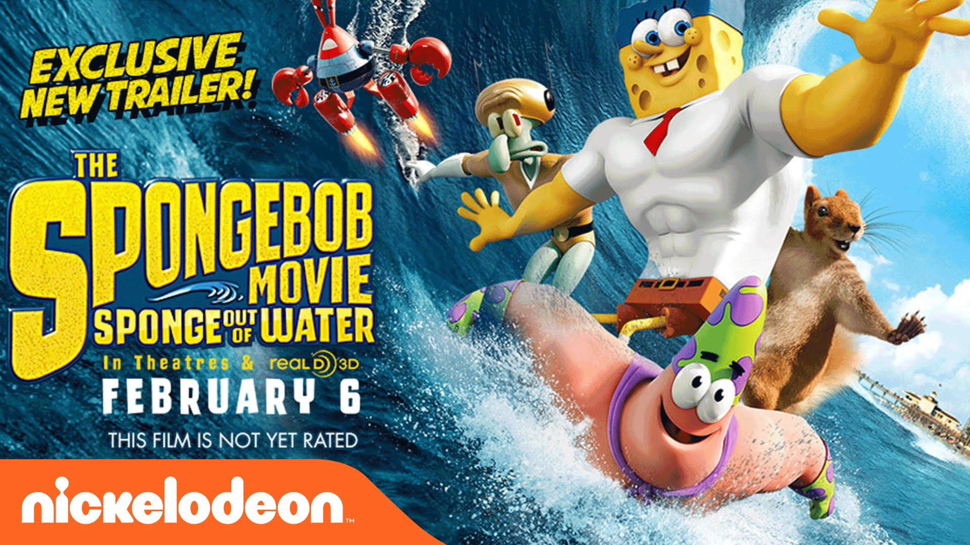 The Spongebob Movie Sponge Out Of Water Wallpapers Movie Hq The