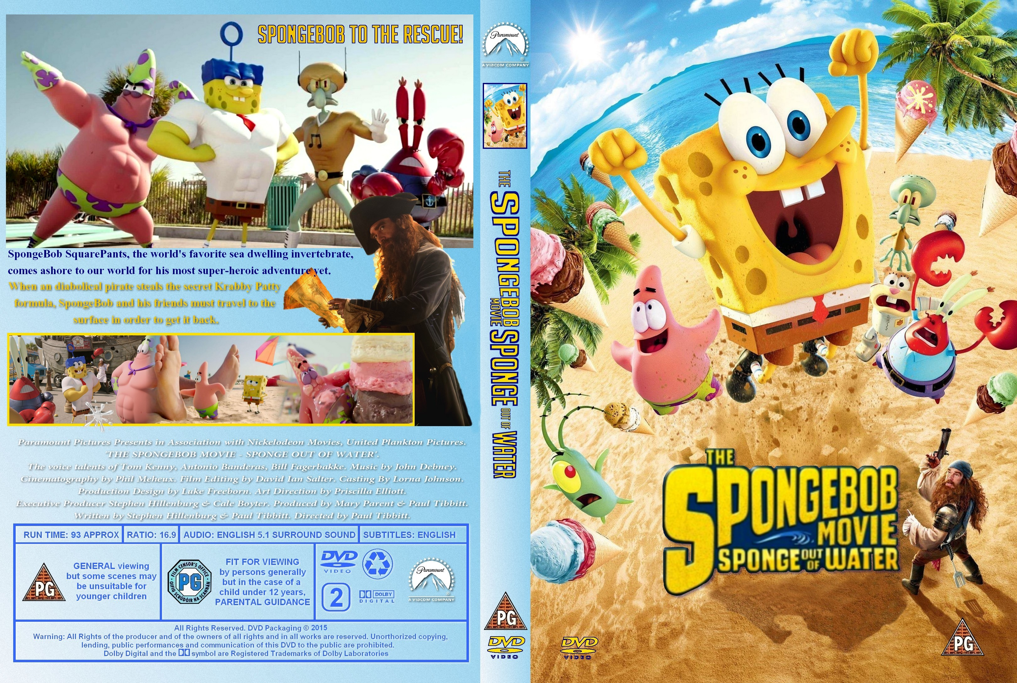 Most Viewed The Spongebob Movie Sponge Out Of Water Wallpapers