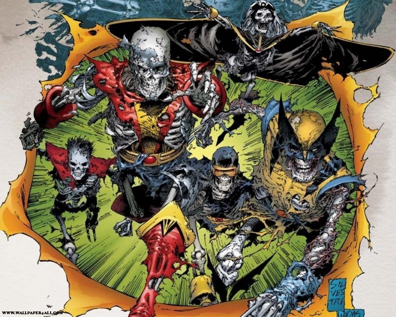 The Undead X Men Wallpapers Comics Hq The Undead X Men Pictures
