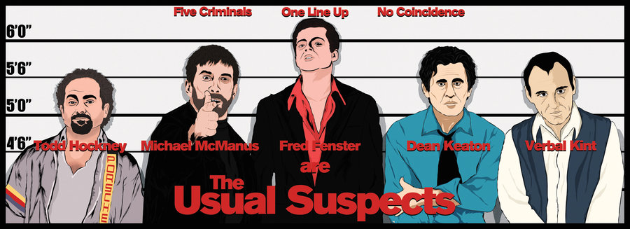 Images of The Usual Suspects | 900x327