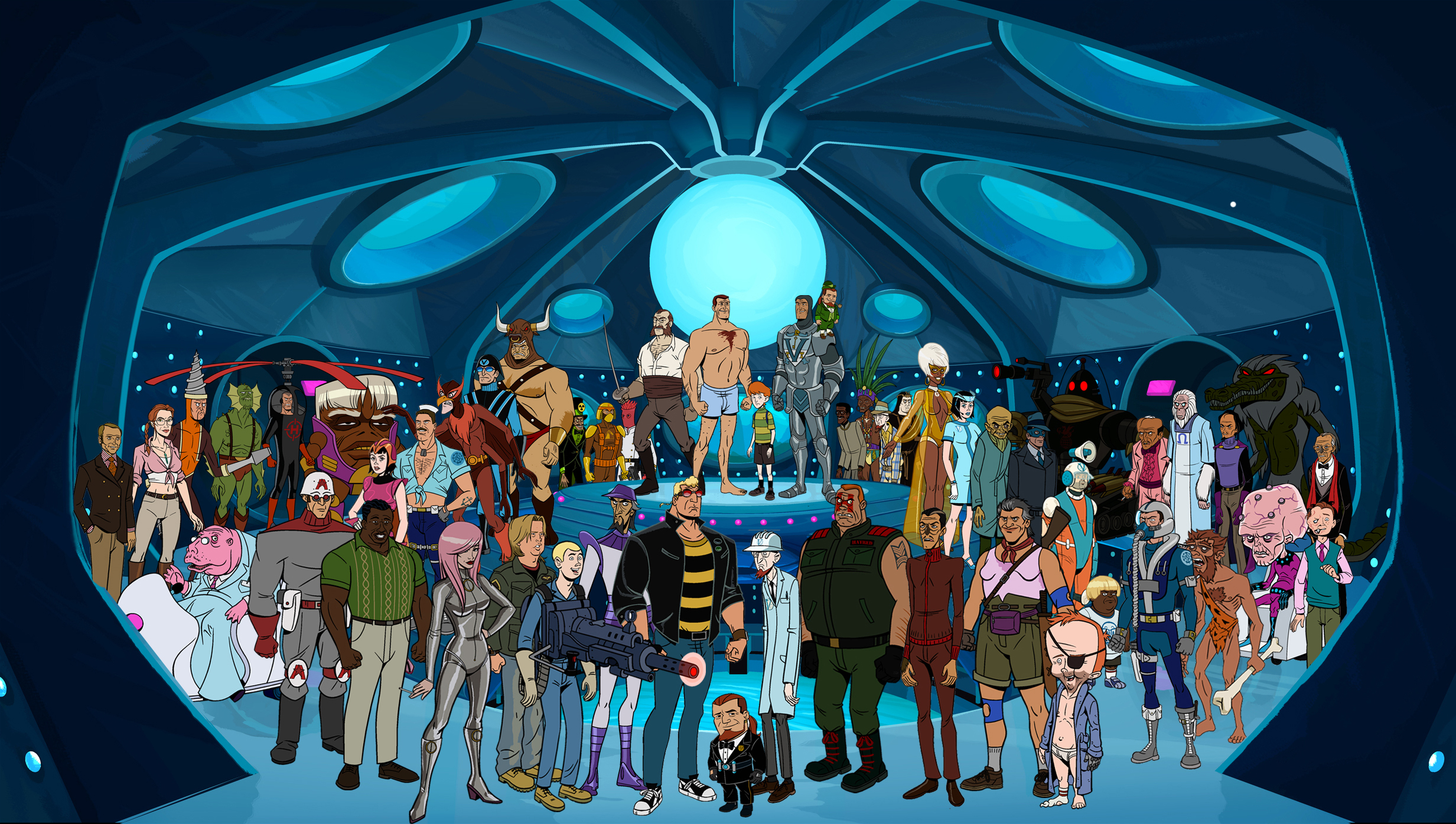 The Venture Brothers Backgrounds, Compatible - PC, Mobile, Gadgets| 2465x1396 px