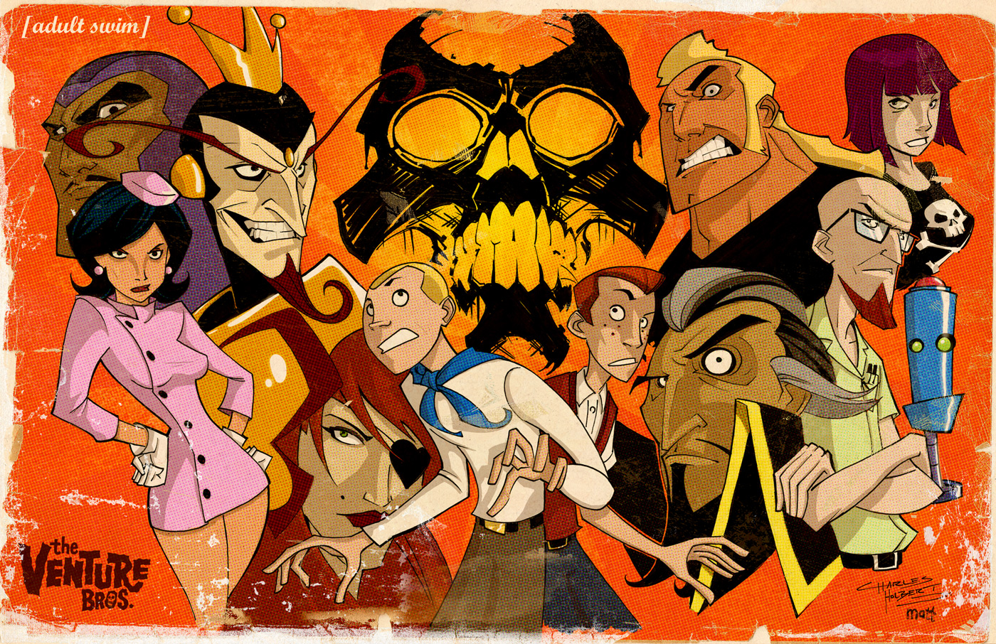 High Resolution Wallpaper | The Venture Brothers 1400x906 px