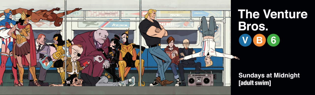 Nice Images Collection: The Venture Brothers Desktop Wallpapers