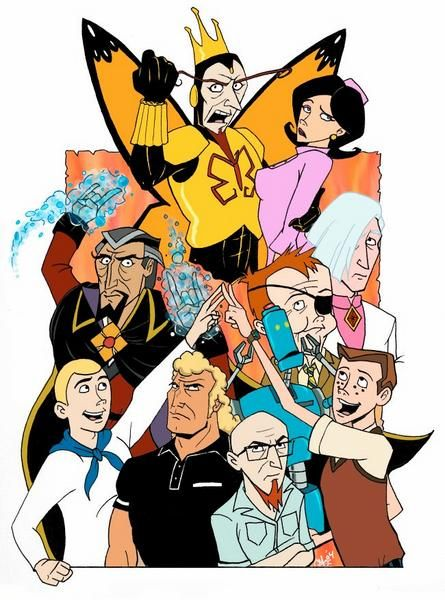 Nice wallpapers The Venture Brothers 445x600px
