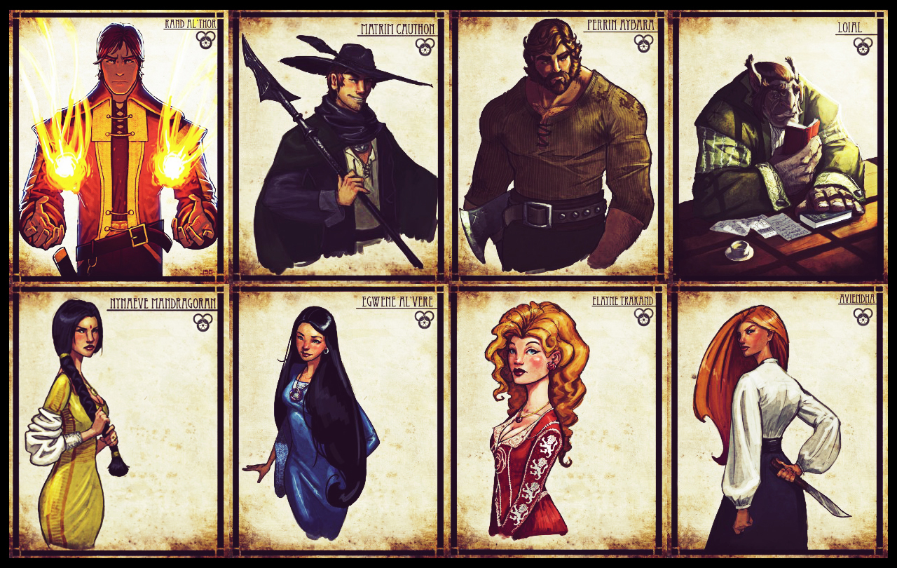 Nice wallpapers The Wheel Of Time 1280x810px