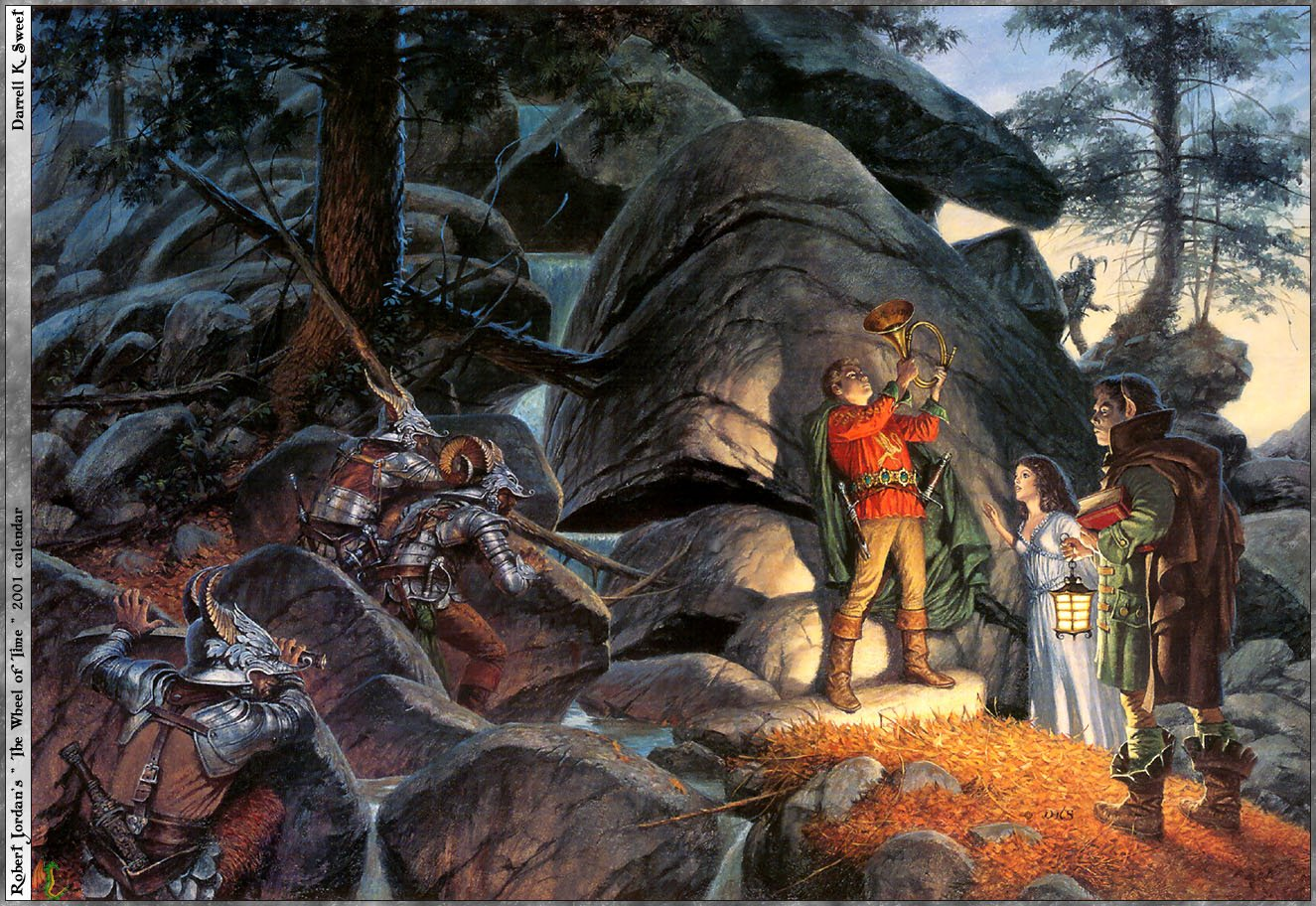 HD Quality Wallpaper | Collection: Fantasy, 1325x912 The Wheel Of Time