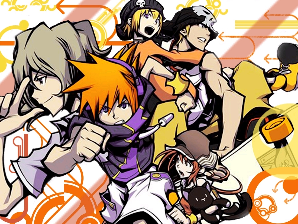 The World Ends With You Wallpapers Anime Hq The World Ends With