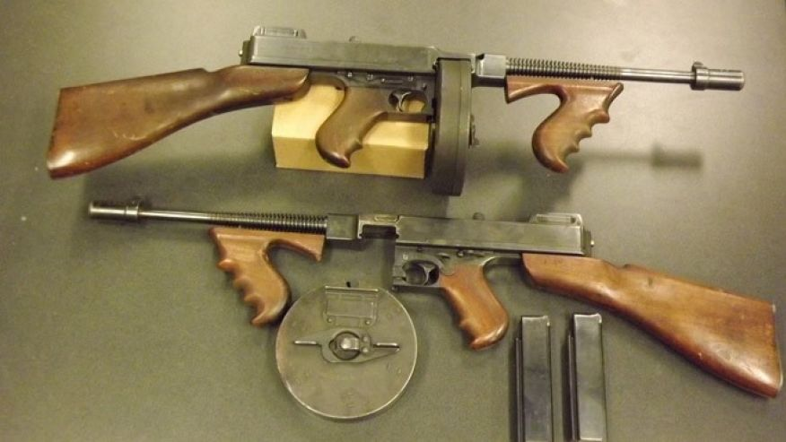 Thompson Submachine Gun wallpapers, Weapons, HQ Thompson