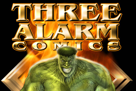 Three Alarm Comics High Quality Background on Wallpapers Vista