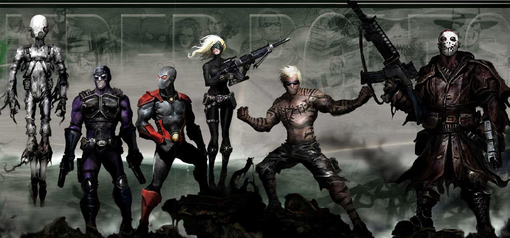 Nice Images Collection: Thunderbolts Desktop Wallpapers