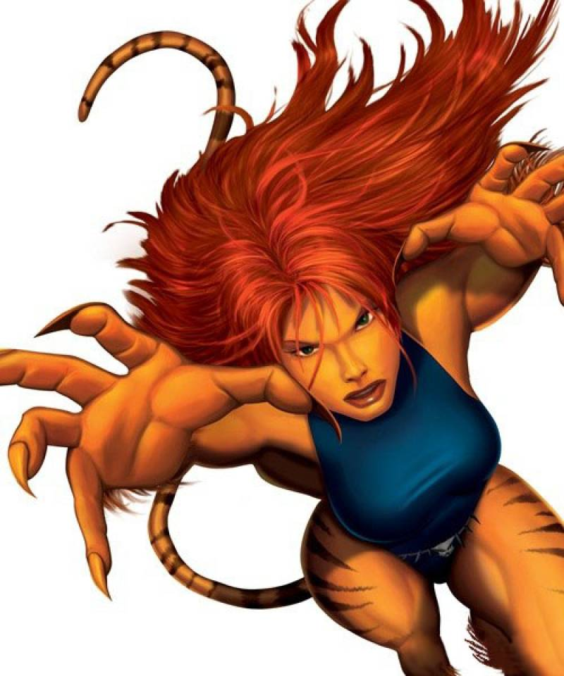 Amazing Tigra Pictures & Backgrounds