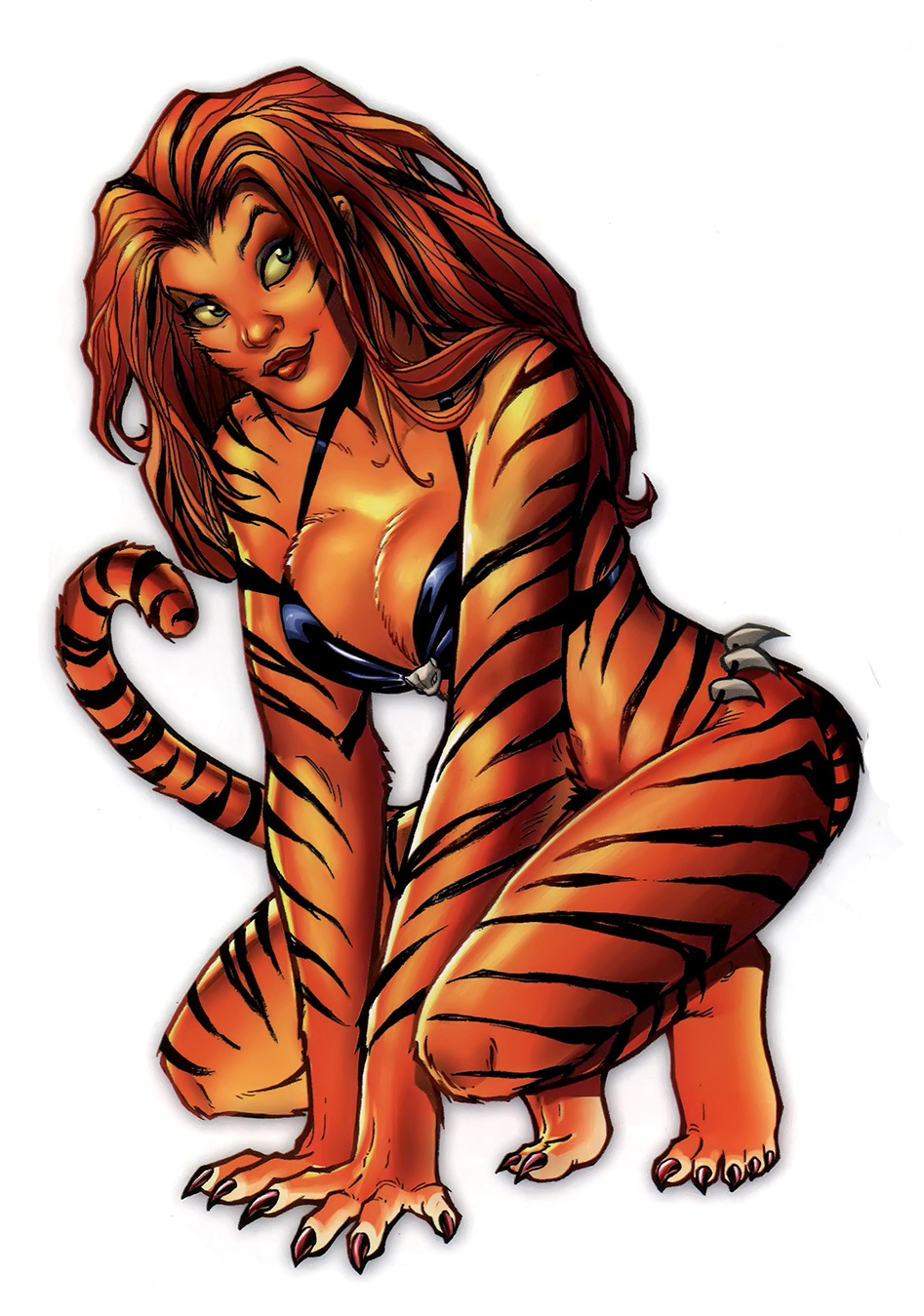 HD Quality Wallpaper | Collection: Comics, 947x1349 Tigra