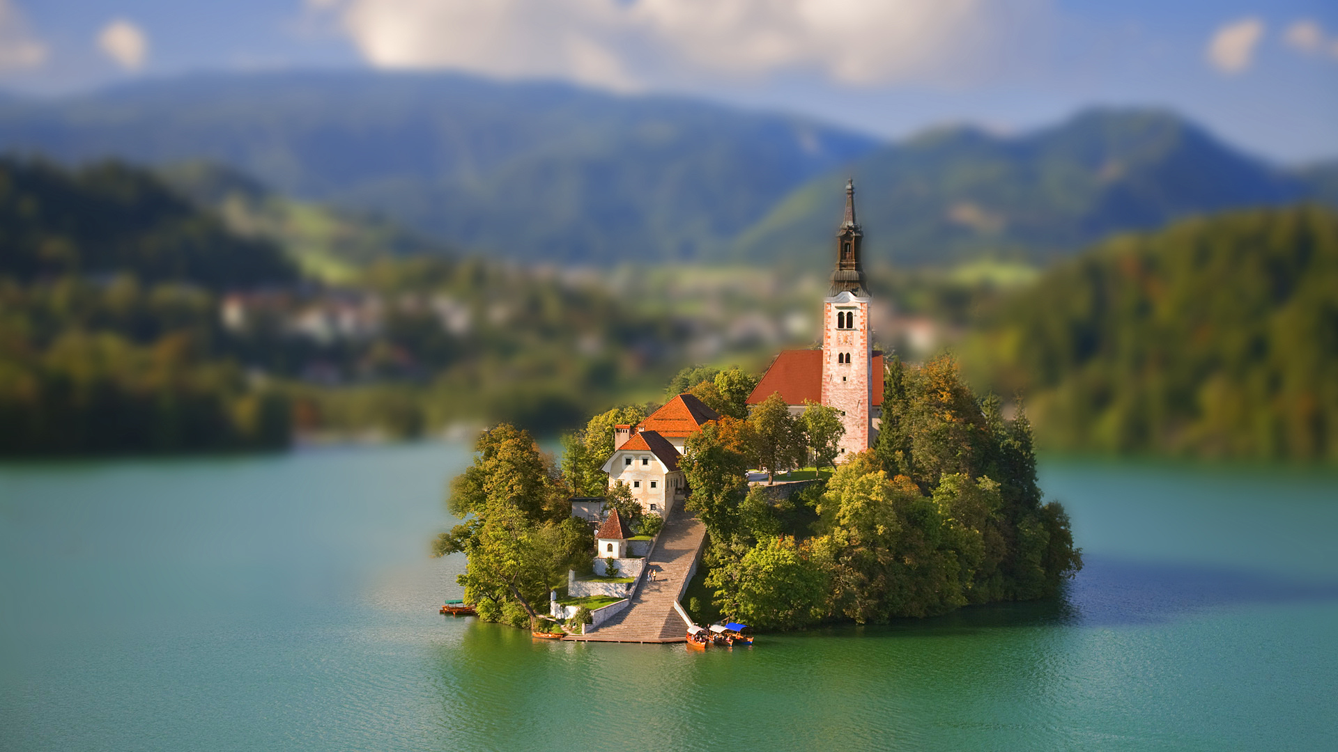 Tilt Shift Backgrounds, Compatible - PC, Mobile, Gadgets| 1920x1080 px