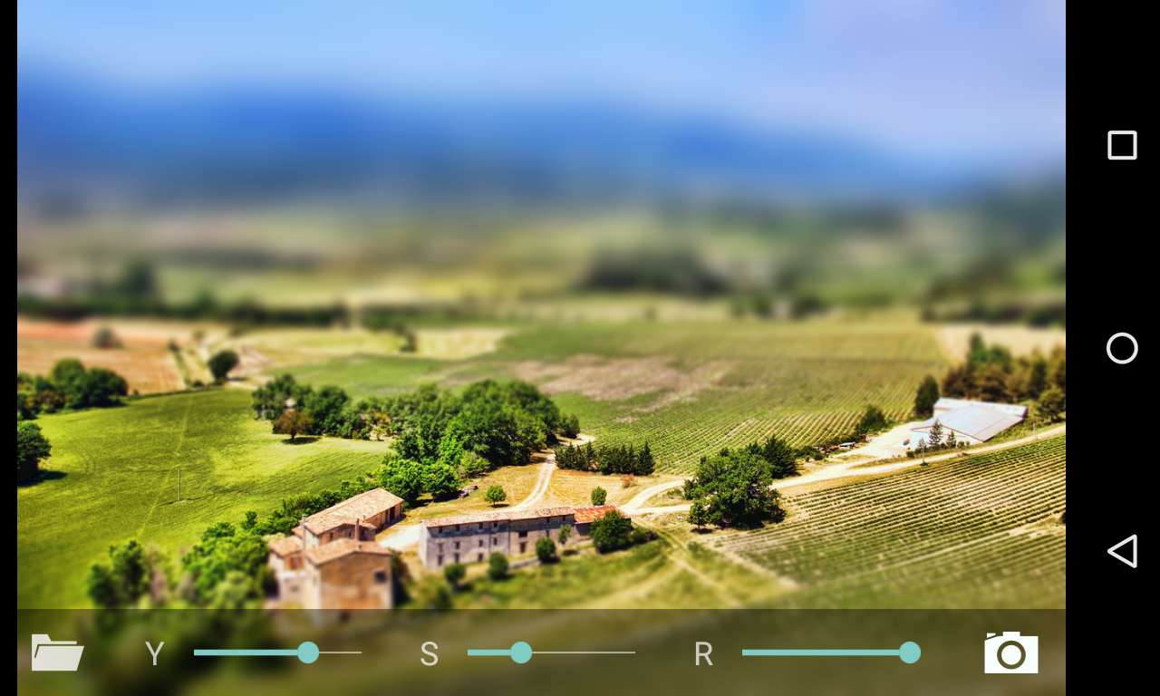 Tilt Shift Backgrounds on Wallpapers Vista