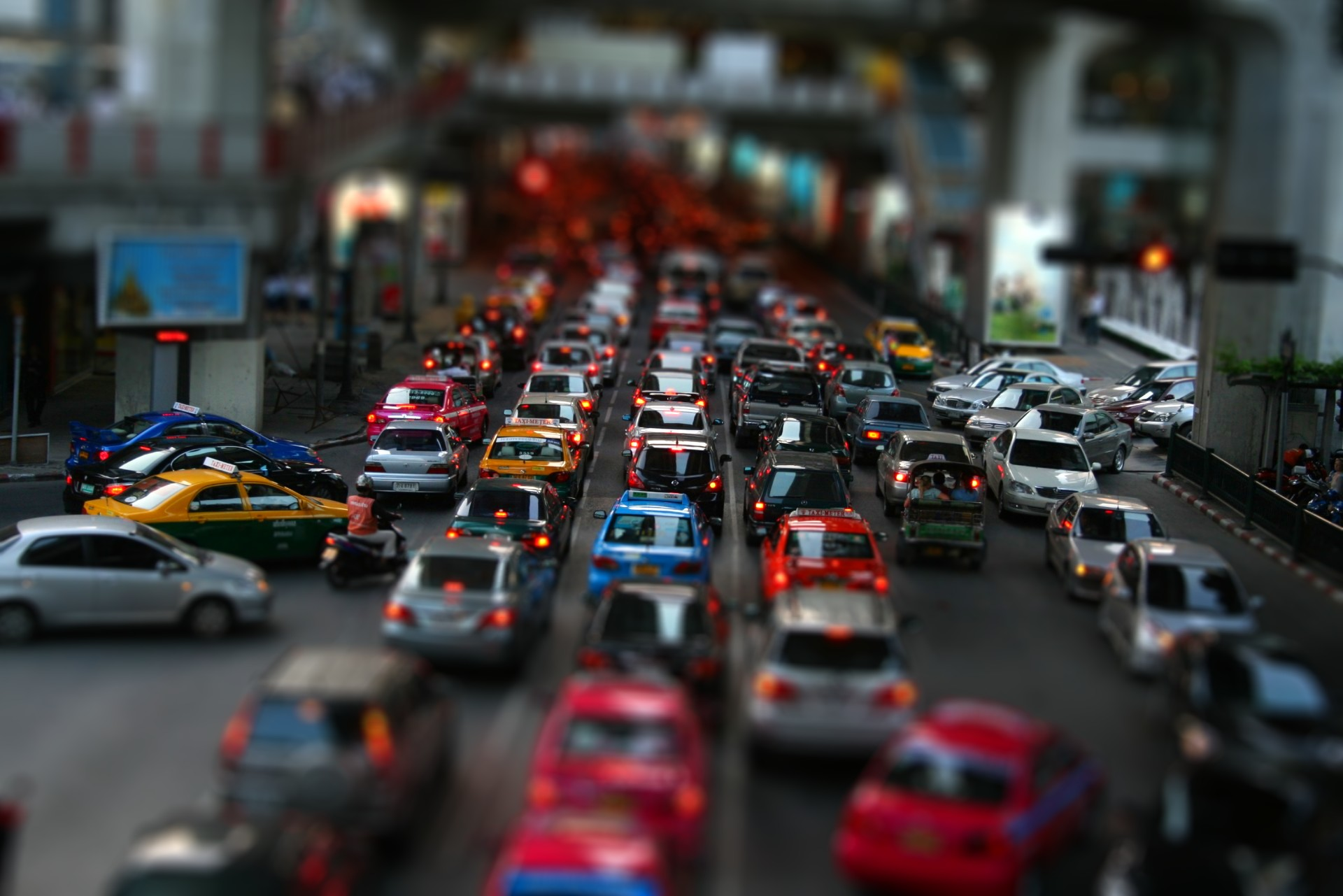 Nice Images Collection: Tilt Shift Desktop Wallpapers