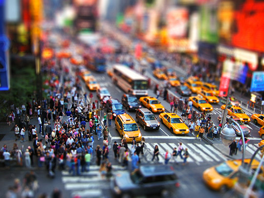 HD Quality Wallpaper | Collection: Photography, 540x405 Tilt Shift