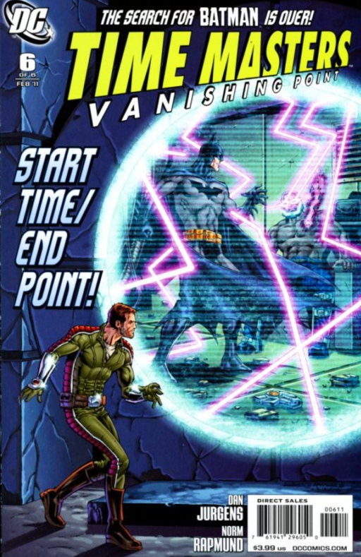 Time Masters: Vanishing Point Pics, Comics Collection