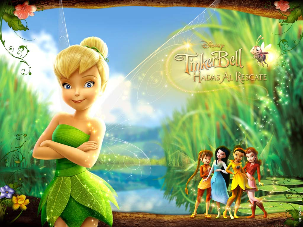 Tinker Bell Backgrounds, Compatible - PC, Mobile, Gadgets| 1024x768 px