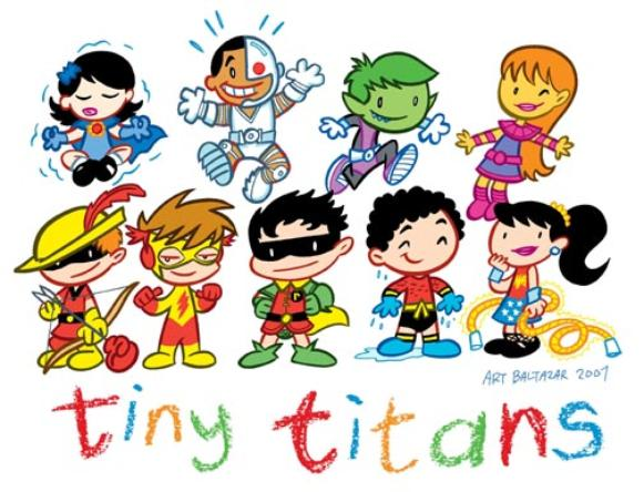 Nice Images Collection: Tiny Titans Desktop Wallpapers