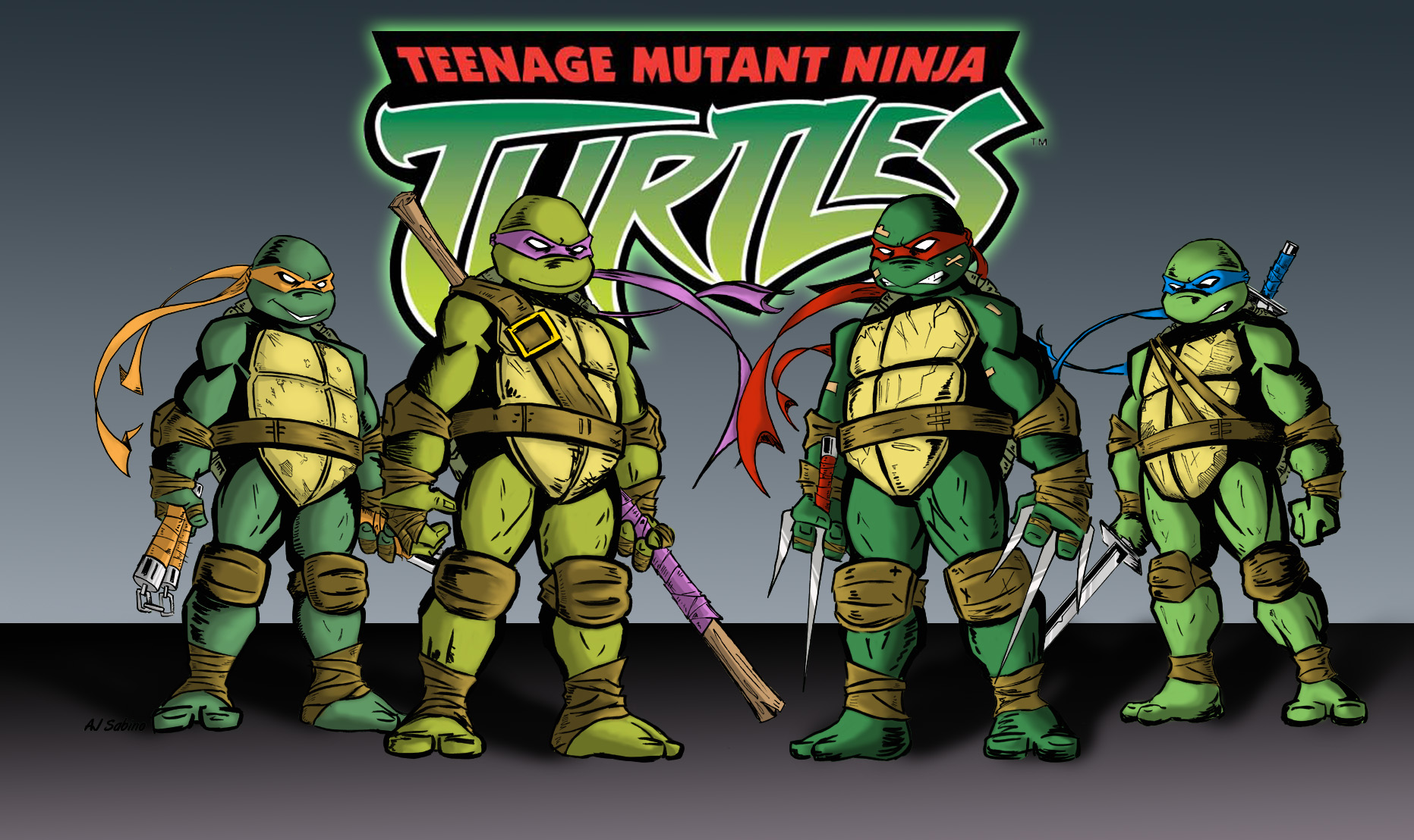 Nice Images Collection: TMNT Desktop Wallpapers