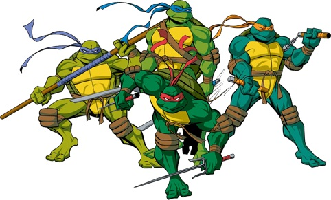 HD Quality Wallpaper | Collection: Video Game, 482x291 TMNT