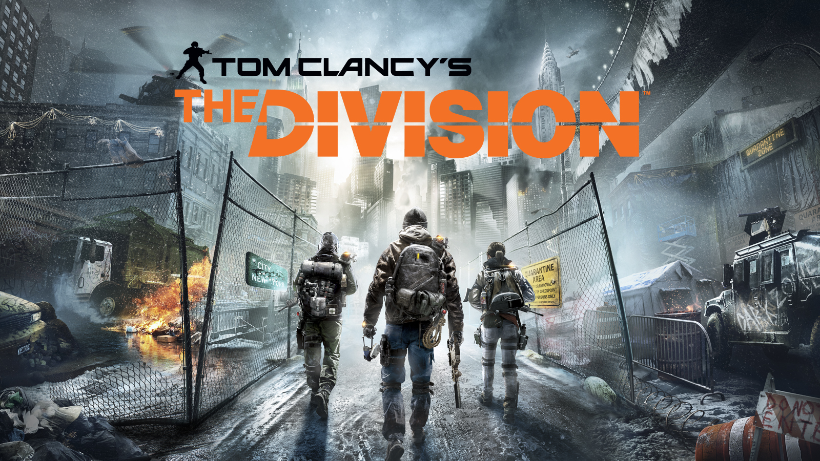 HQ Tom Clancy's The Division Wallpapers | File 2884.26Kb