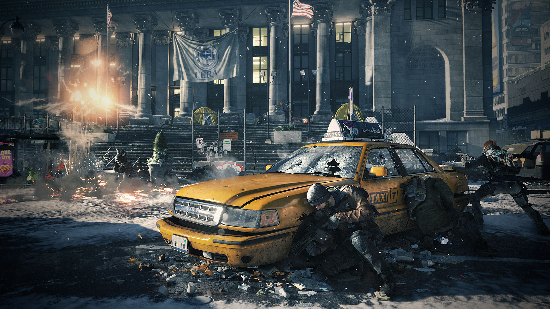 HQ Tom Clancy's The Division Wallpapers | File 561.5Kb