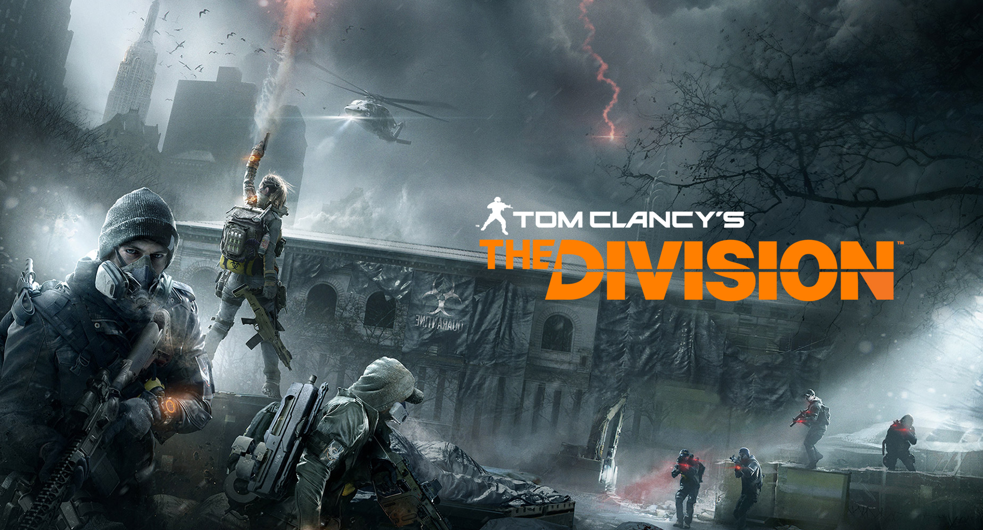 HQ Tom Clancy's The Division Wallpapers | File 908.23Kb