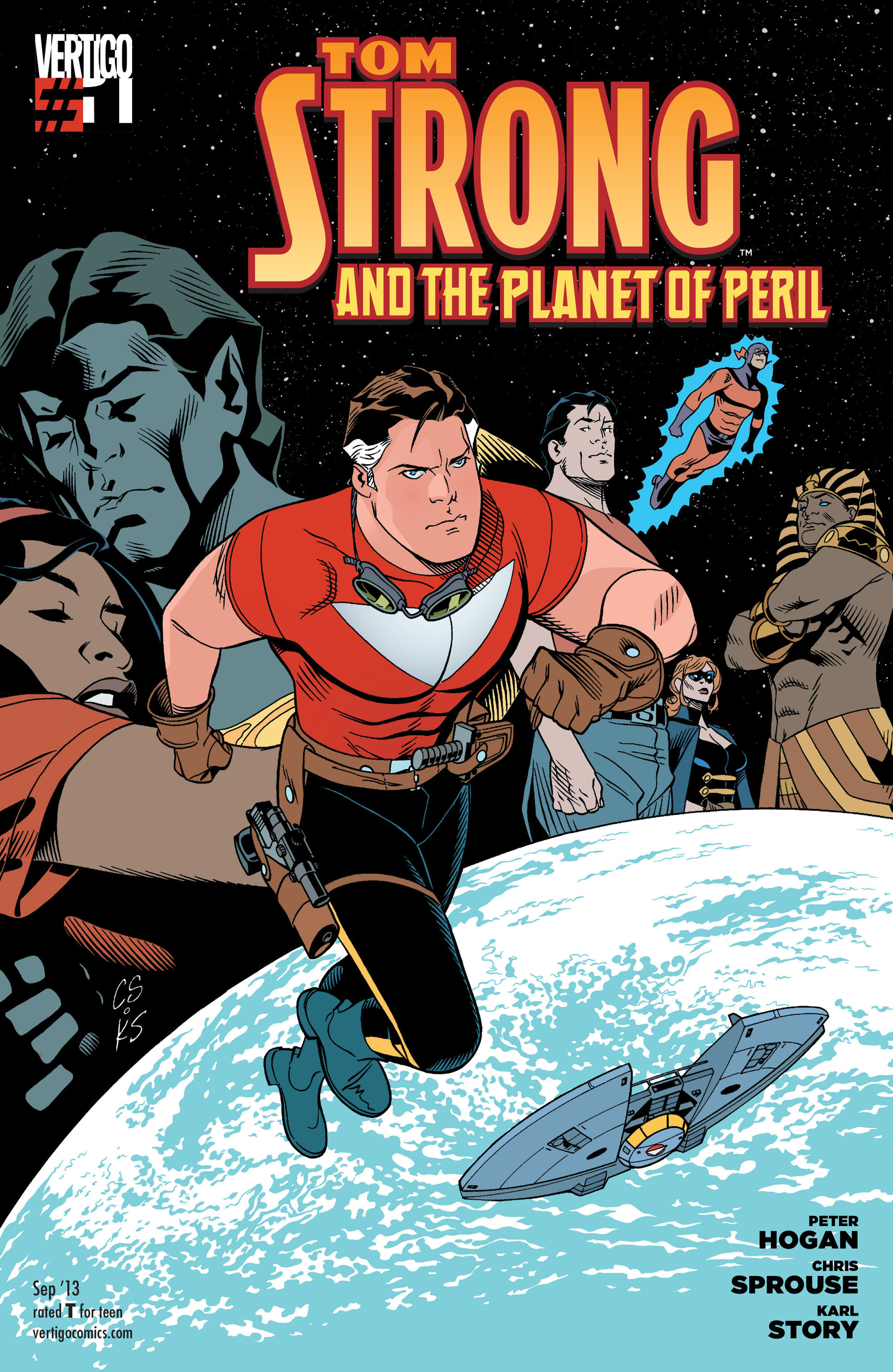 Tom Strong And The Planet Of Peril Pics, Comics Collection