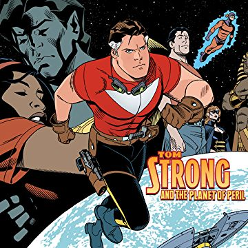 Images of Tom Strong And The Planet Of Peril | 360x360