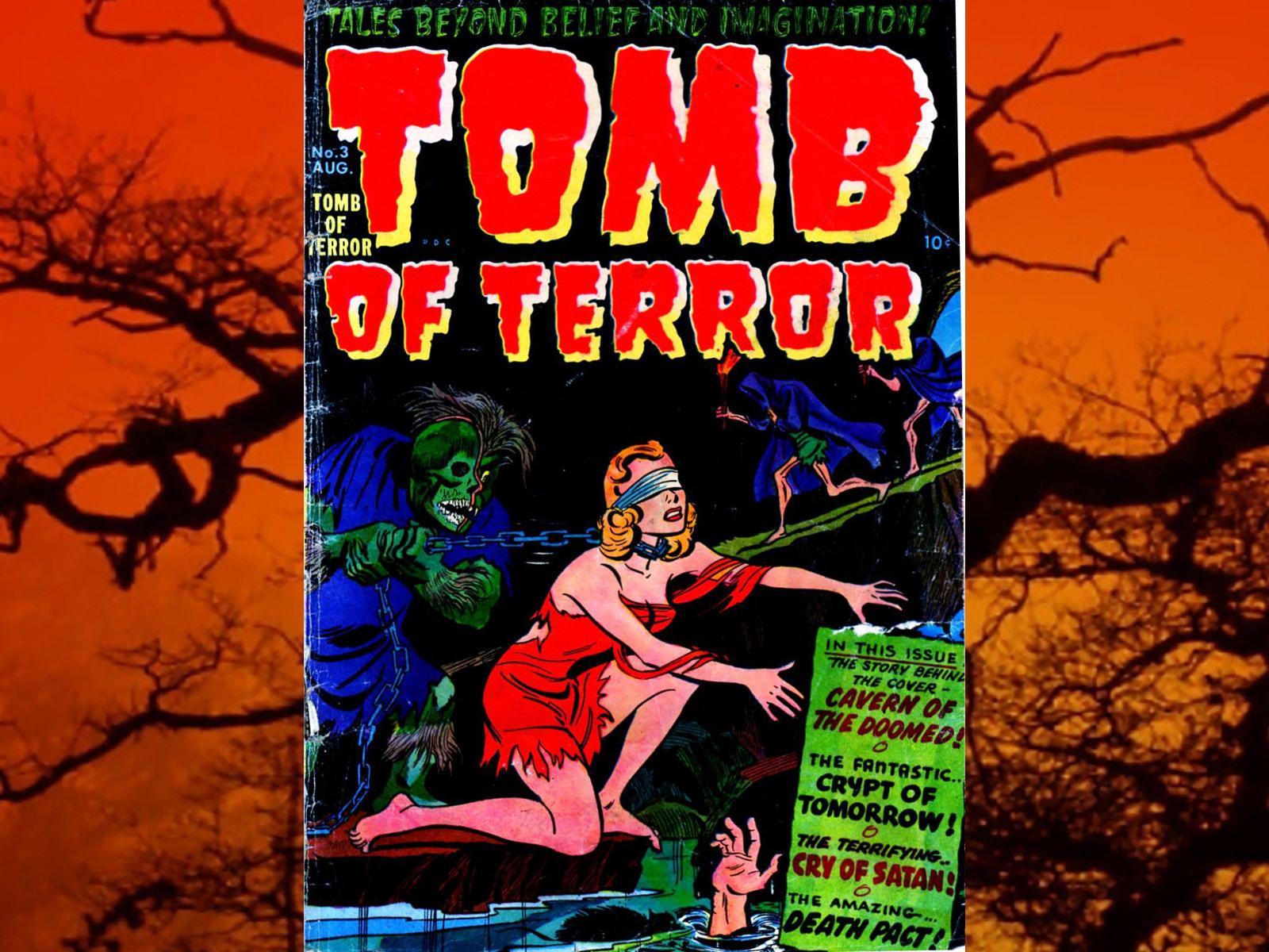 1600x1200 > Tomb Of Terror Wallpapers