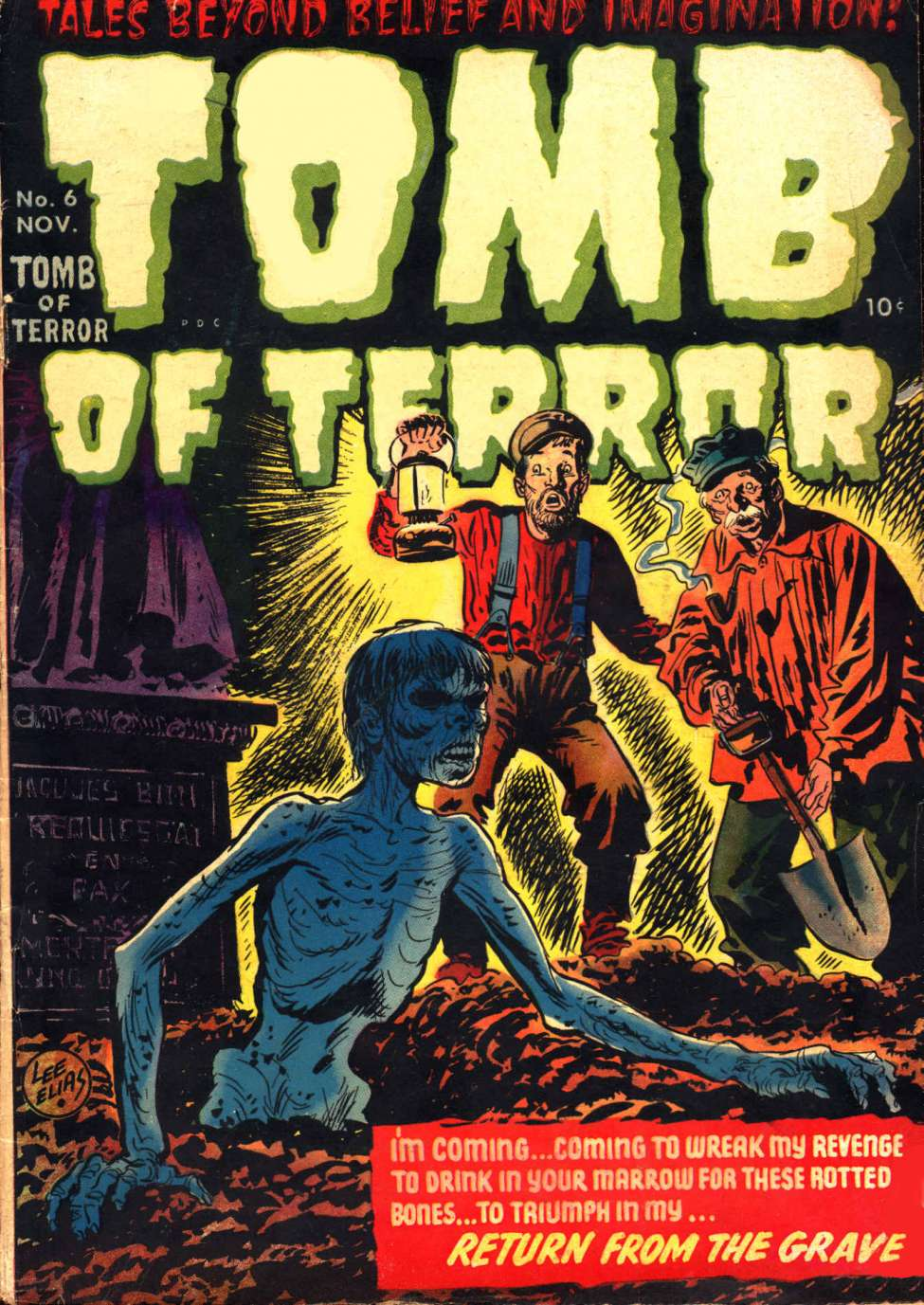 Images of Tomb Of Terror | 975x1377