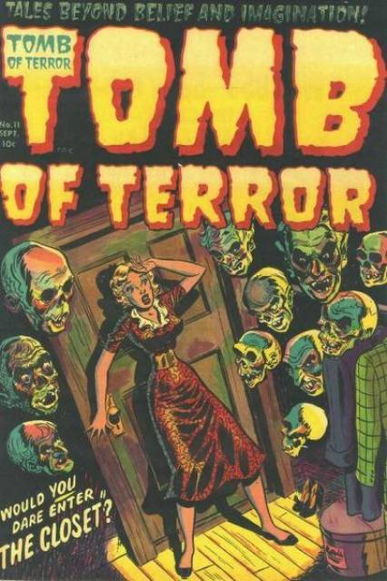 HD Quality Wallpaper | Collection: Comics, 426x640 Tomb Of Terror