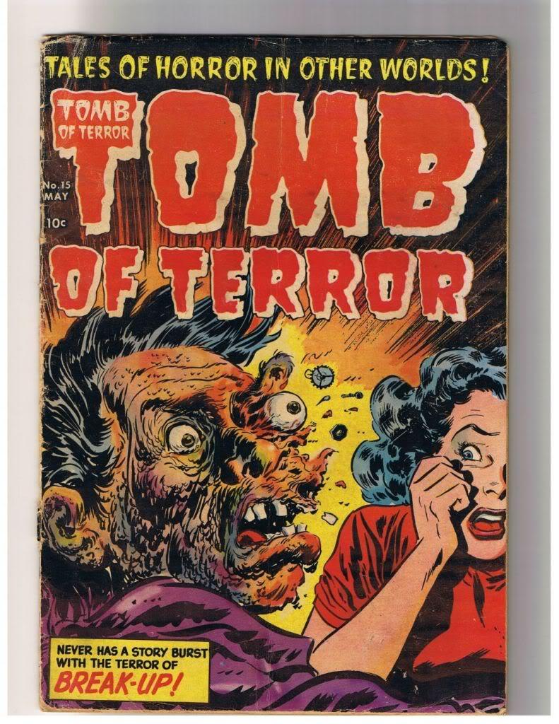 Tomb Of Terror Pics, Comics Collection