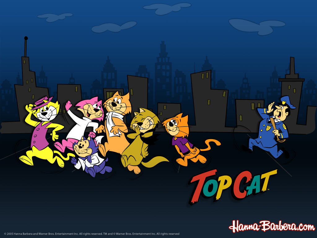 HD Quality Wallpaper | Collection: Cartoon, 1024x768 Top Cat