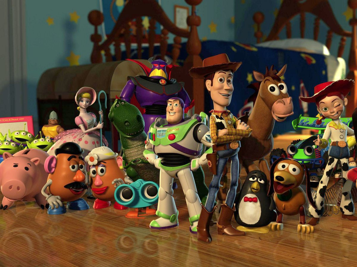 Nice Images Collection: Toy Story Desktop Wallpapers