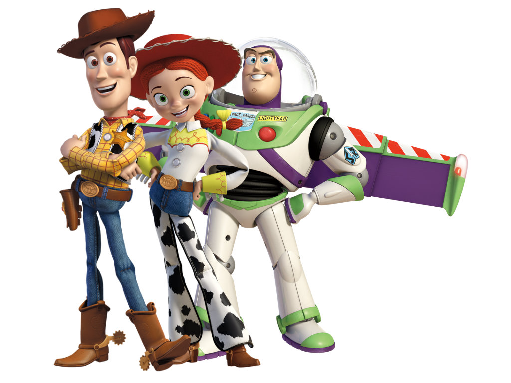 HD Quality Wallpaper | Collection: Cartoon, 1024x768 Toy Story