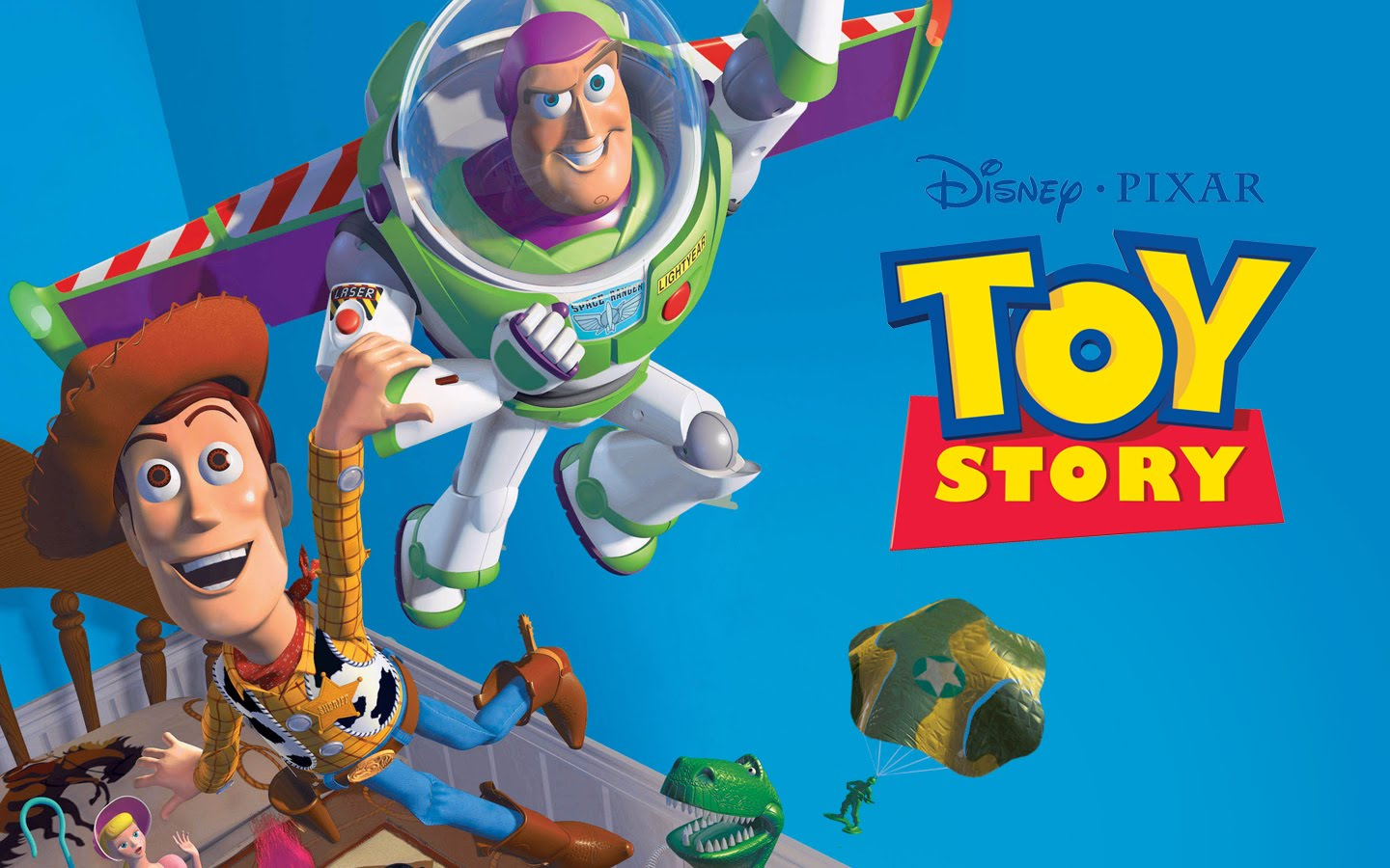 HD Quality Wallpaper | Collection: Cartoon, 1440x900 Toy Story