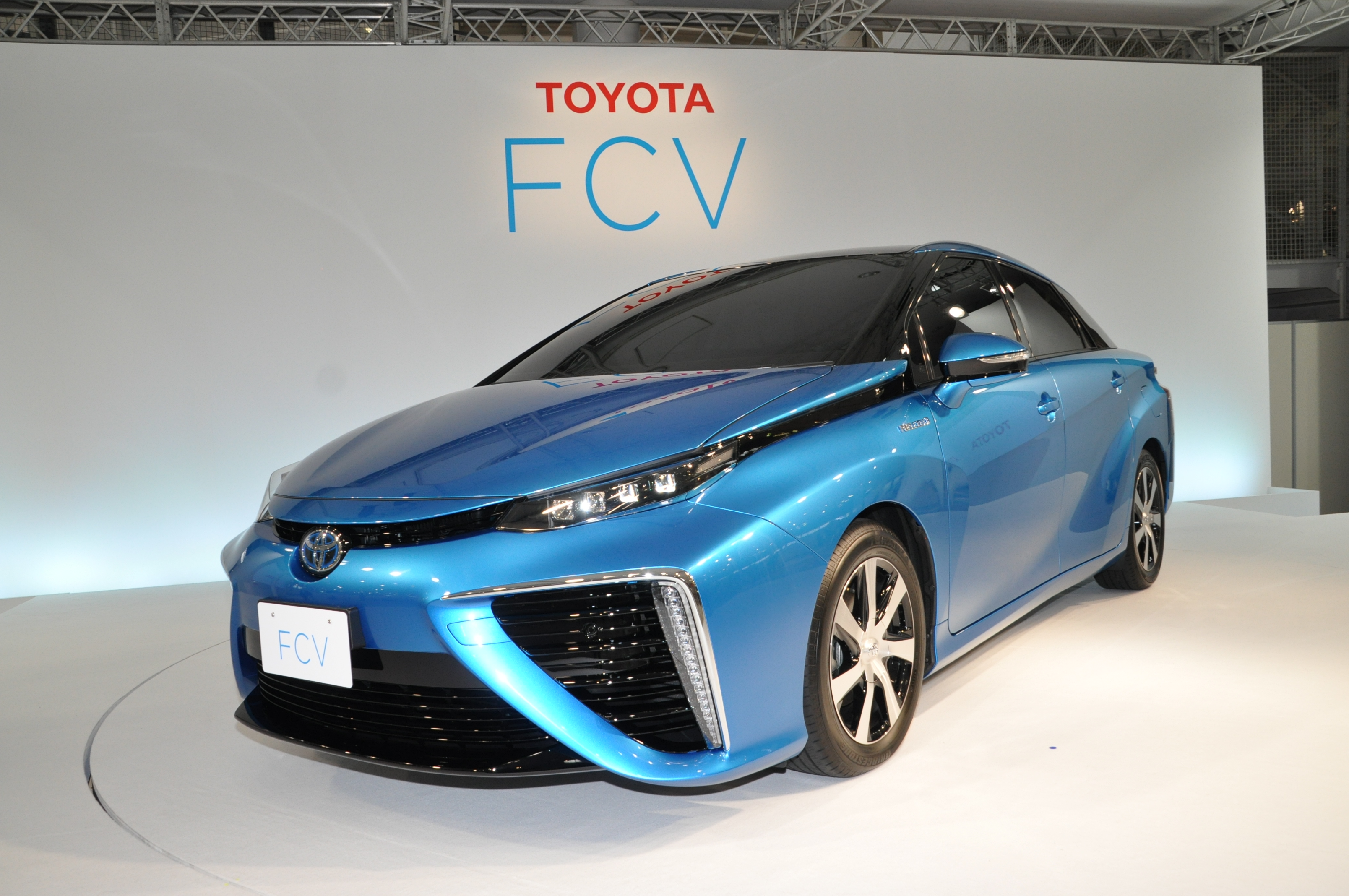 HD Quality Wallpaper | Collection: Vehicles, 3216x2136 Toyota FCV
