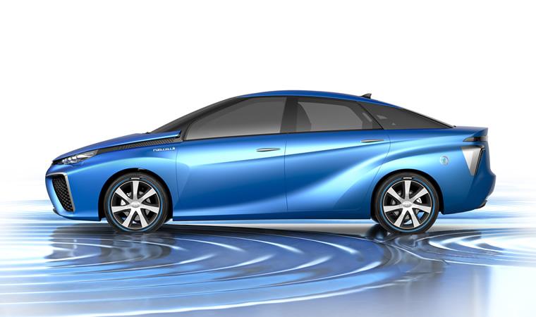 HQ Toyota FCV Wallpapers | File 79.14Kb