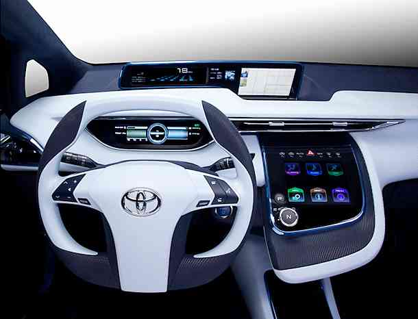Images of Toyota FCV | 610x466