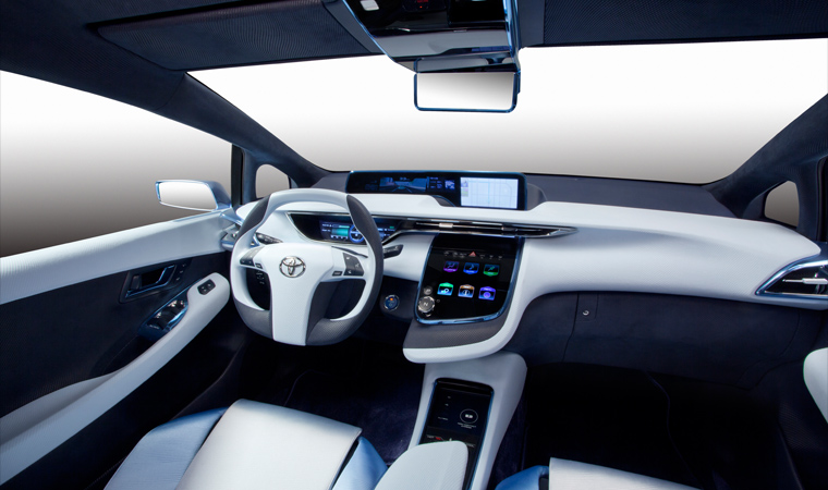 HD Quality Wallpaper | Collection: Vehicles, 760x450 Toyota FCV