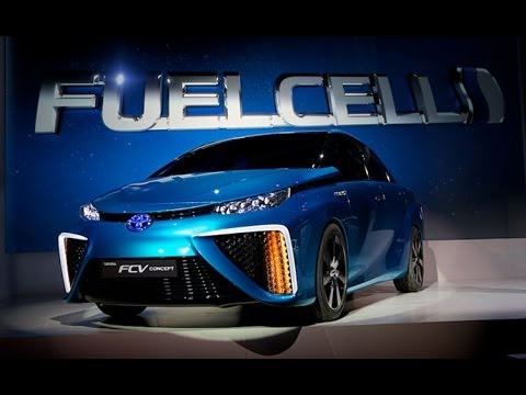 Nice wallpapers Toyota FCV 480x360px
