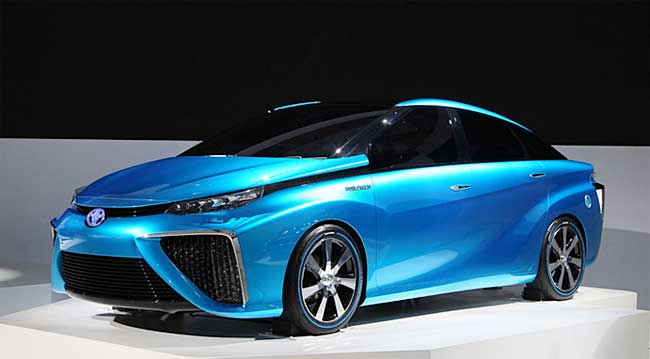 Images of Toyota FCV | 650x359