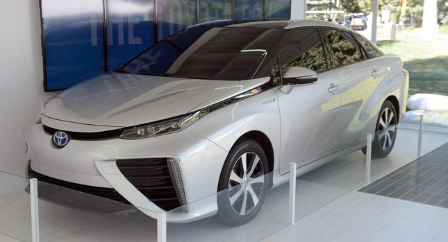High Resolution Wallpaper | Toyota FCV 645x349 px