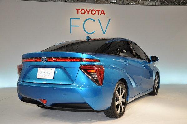 High Resolution Wallpaper | Toyota FCV 599x398 px